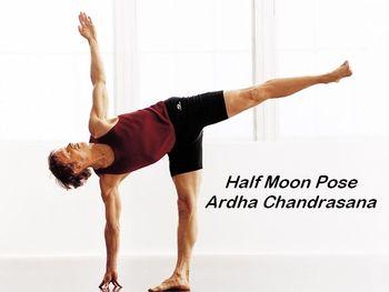 Half Moon Pose (Ardha Chandrasana)