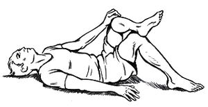 Piriformis Stretch 1
