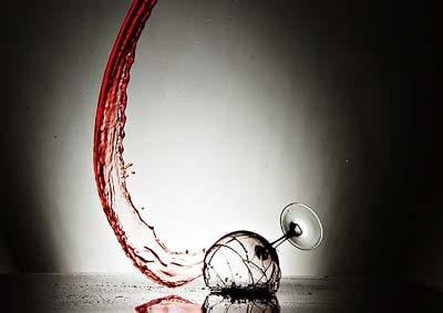 Breakingawineglass