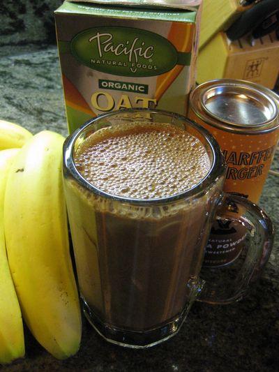Neal's Banana Chocolate shake