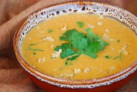 Sweet Potato Coconut Soup