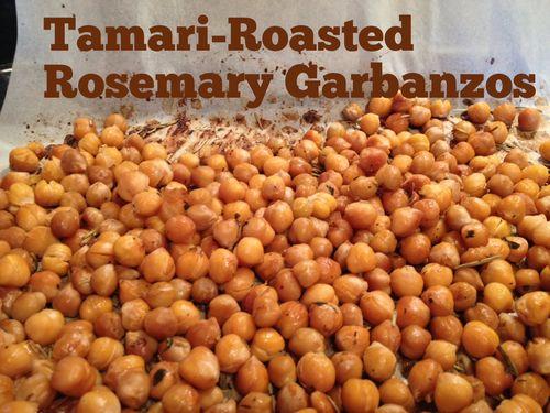 Tamari Roasted Garbanzos