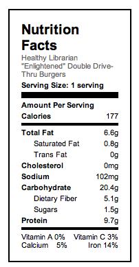 Enlightened Drive-Thru Burgers Based on 16 burgers