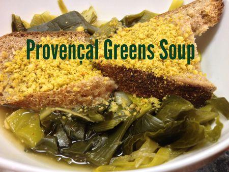 Provencal Greens Soup