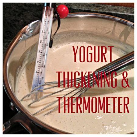 Yogurt thickening