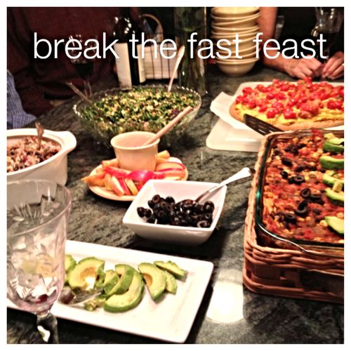 Break the fast feast