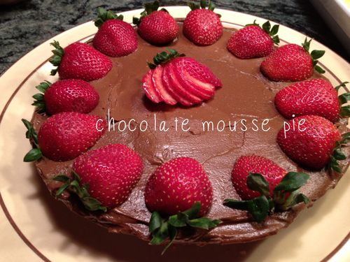 Chocolatemouusepie